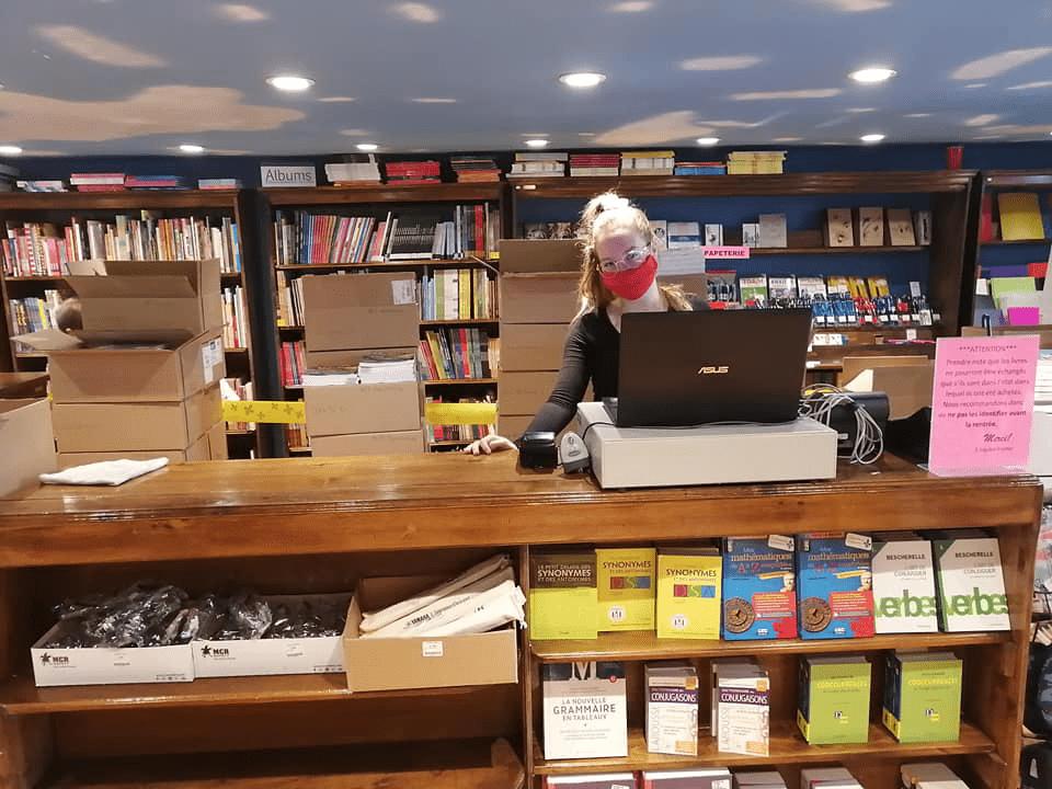 Covid_Librairie Poirier