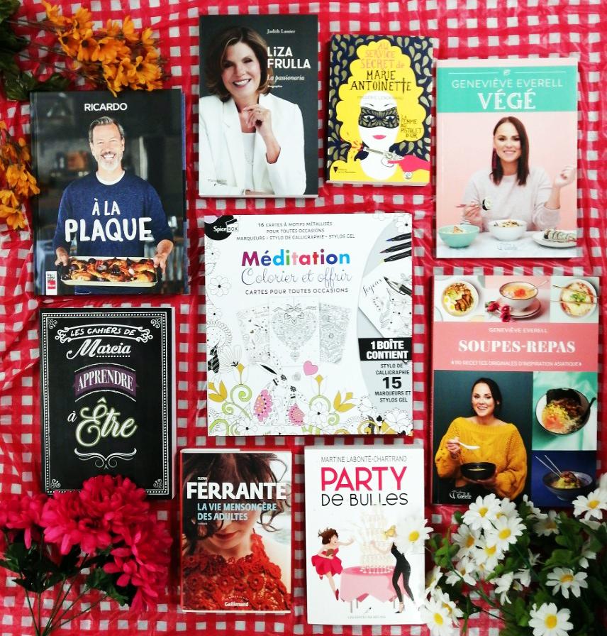 Concours fête des mères Librairie Poirier